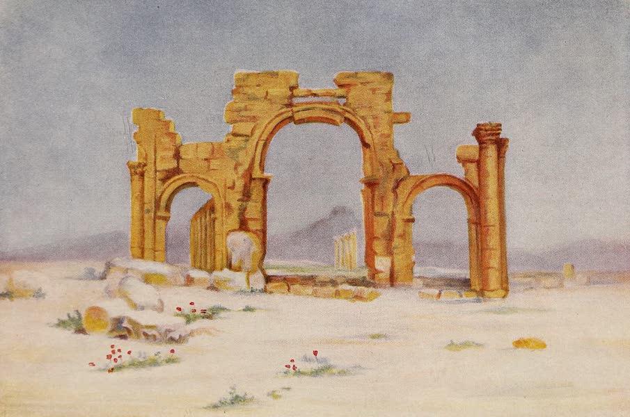 From Damascus to Palmyra - Triumphal Arch, Palmyra (1908)