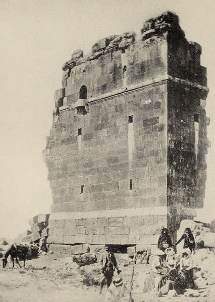 From Damascus to Palmyra - Kasr el Her. From a Photograph (1908)