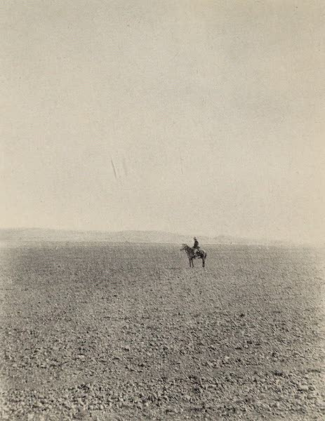 From Damascus to Palmyra - The Quarries, Palmyra. From a Photograph (1908)