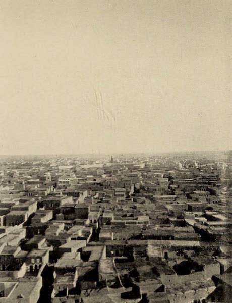 From Damascus to Palmyra - Modern Homs. From a Photograph (1908)