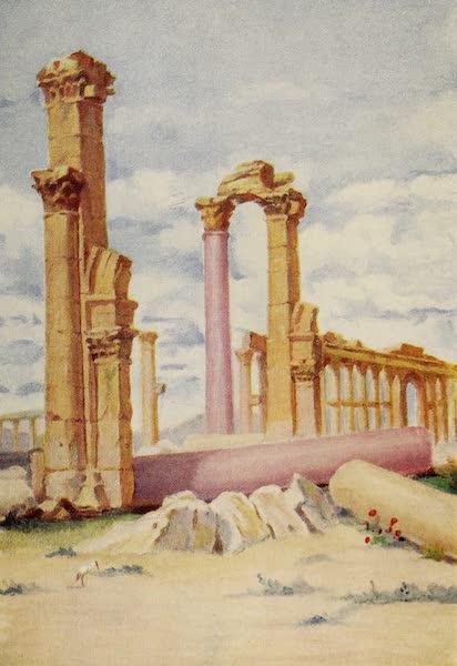 From Damascus to Palmyra - Fallen Monolith, Palmyra (1908)