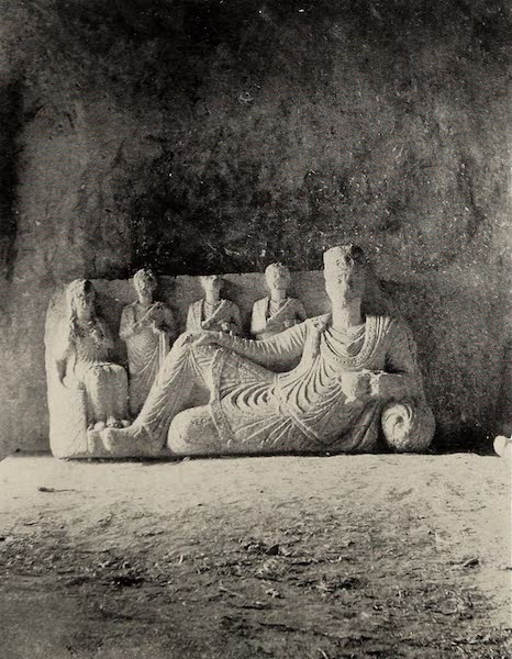 From Damascus to Palmyra - Torso of the God of Wine, Palmyra. From a Photograph (1908)
