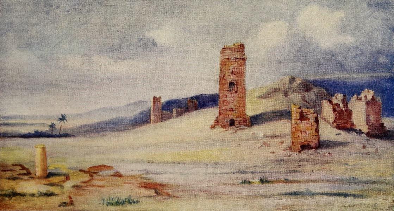 From Damascus to Palmyra - Mortuary Towers, Palmyra (1908)