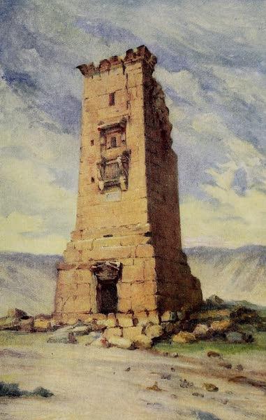 From Damascus to Palmyra - A Mortuary Tower, Palmyra (1908)