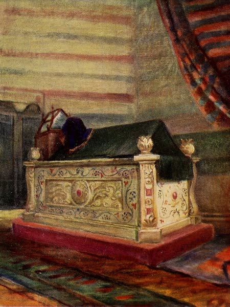 From Damascus to Palmyra - Tomb of Saladin. Interior (1908)