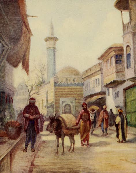 From Damascus to Palmyra - The Dervishiyeh Mosque, Damascus (1908)