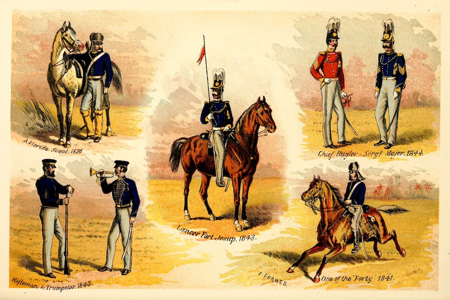 From Everglade to Canon with the Second Dragoons - Second Dragons Unit I (1875)