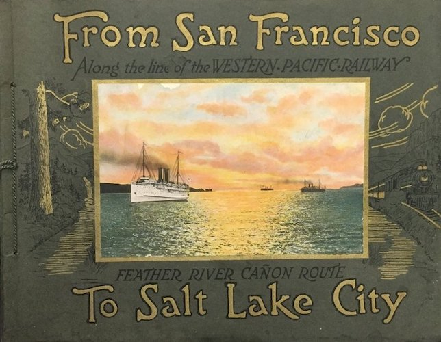 Aquatint & Lithography - From San Francisco to Salt Lake City
