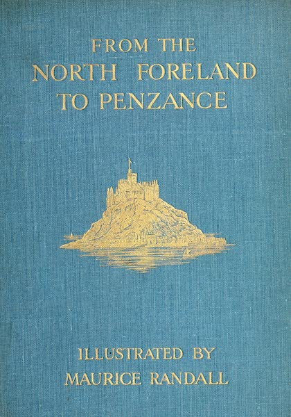 From the North Foreland to Penzance - Front Cover (1908)