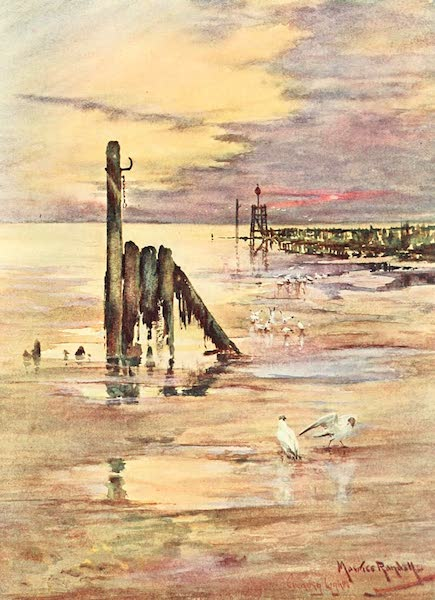 From the North Foreland to Penzance - Low Tide at Littlehampton (1908)