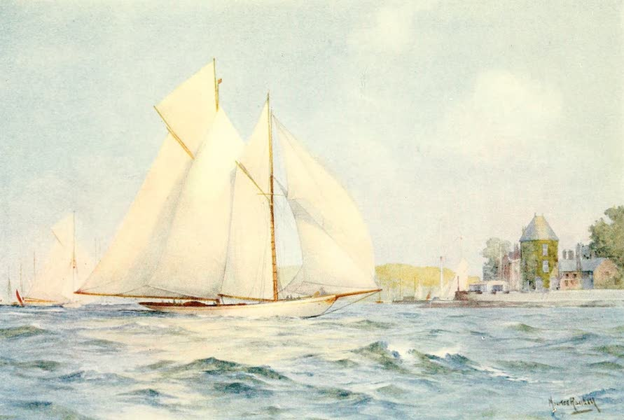 From the North Foreland to Penzance - Cowes: Summer (1908)