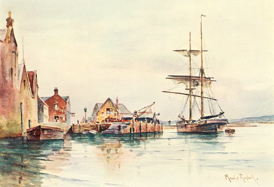 From the North Foreland to Penzance - Yarmouth, I.O.W (1908)