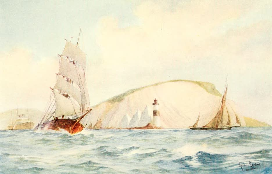 From the North Foreland to Penzance - The Needles (1908)