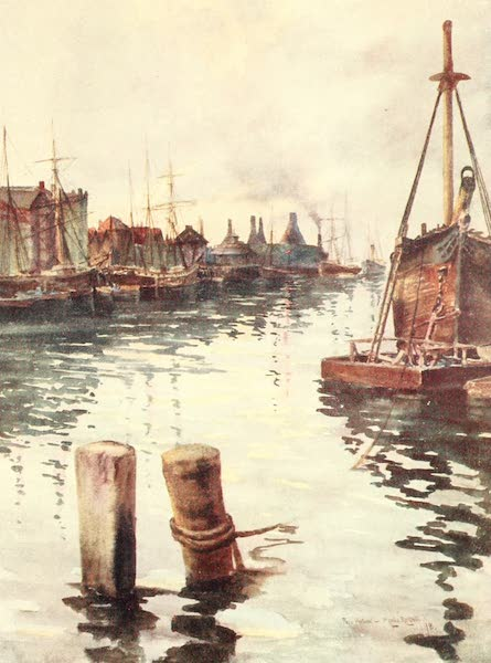 From the North Foreland to Penzance - Poole Harbour (1908)