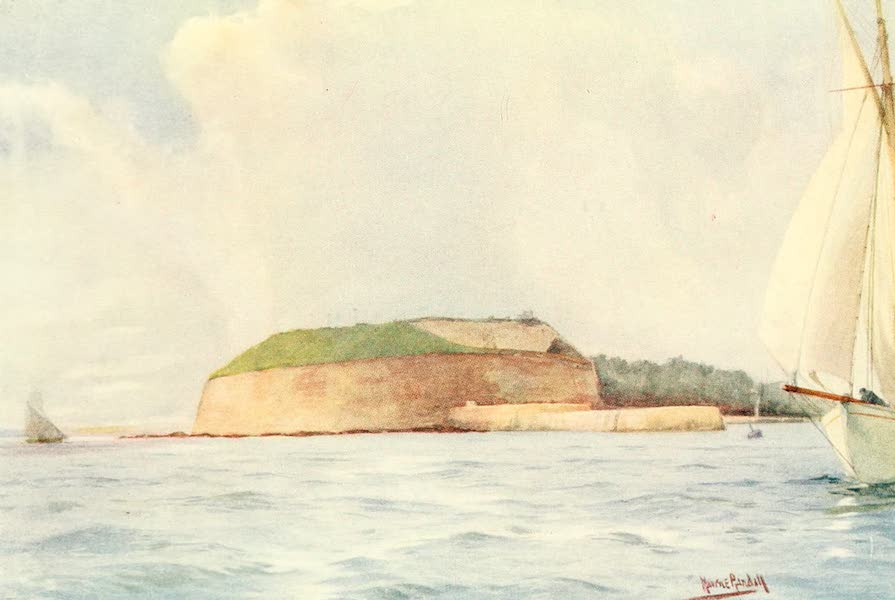 From the North Foreland to Penzance - The Nothe, Weymouth (1908)