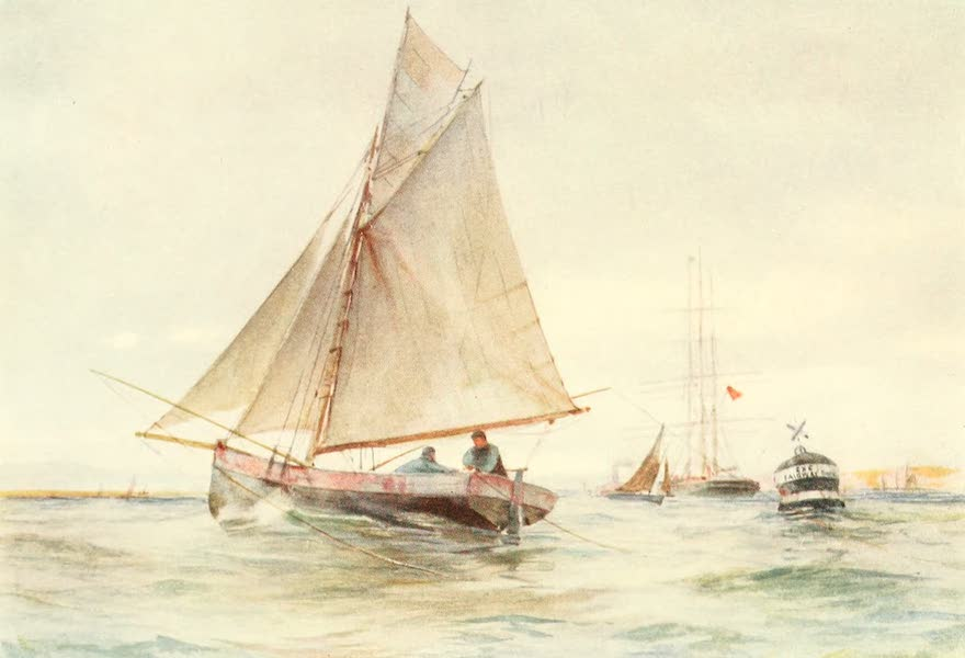From the North Foreland to Penzance - Fishing for Mackerel off Exmouth (1908)
