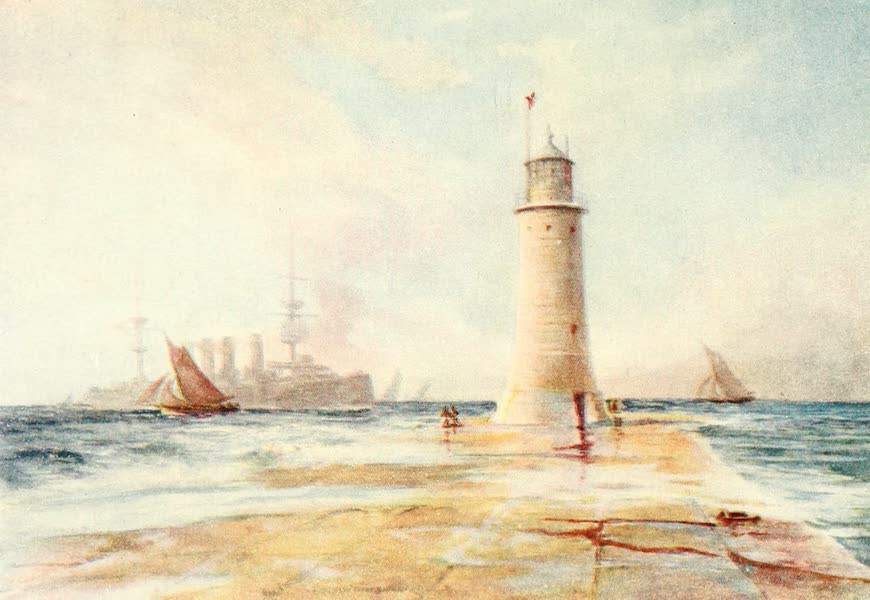 From the North Foreland to Penzance - Plymouth Breakwater (1908)