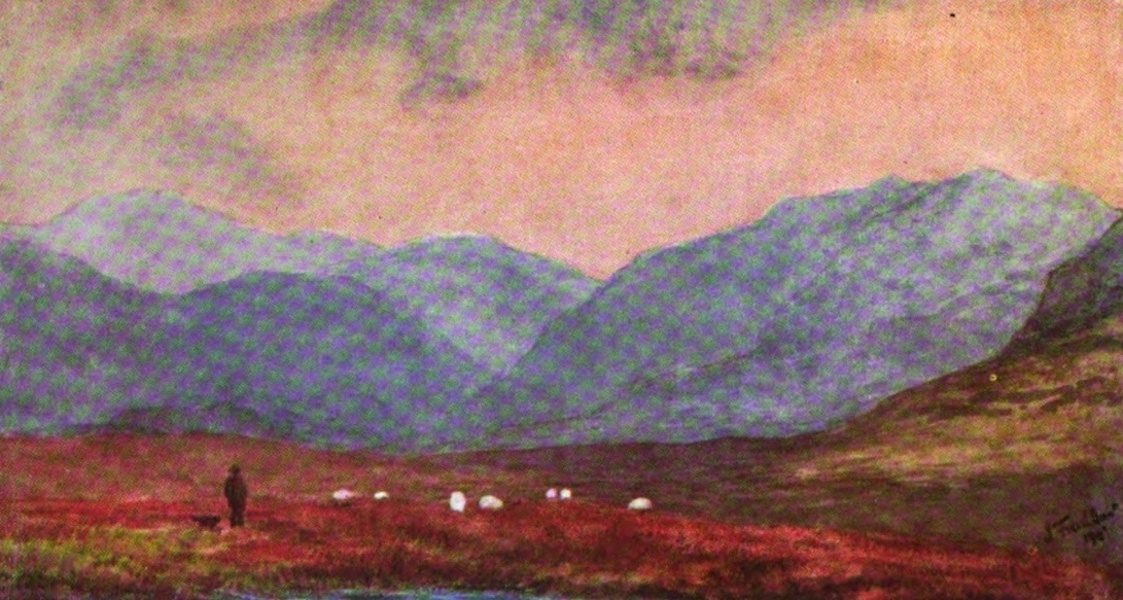 Galloway Painted and Described - The Cooran Lane (1908)