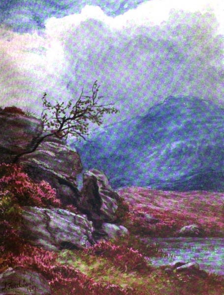 Galloway Painted and Described - Moorland (1908)