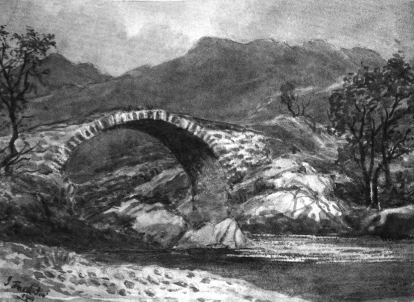 Galloway Painted and Described - Roman Brig on the River Minnoch (1908)