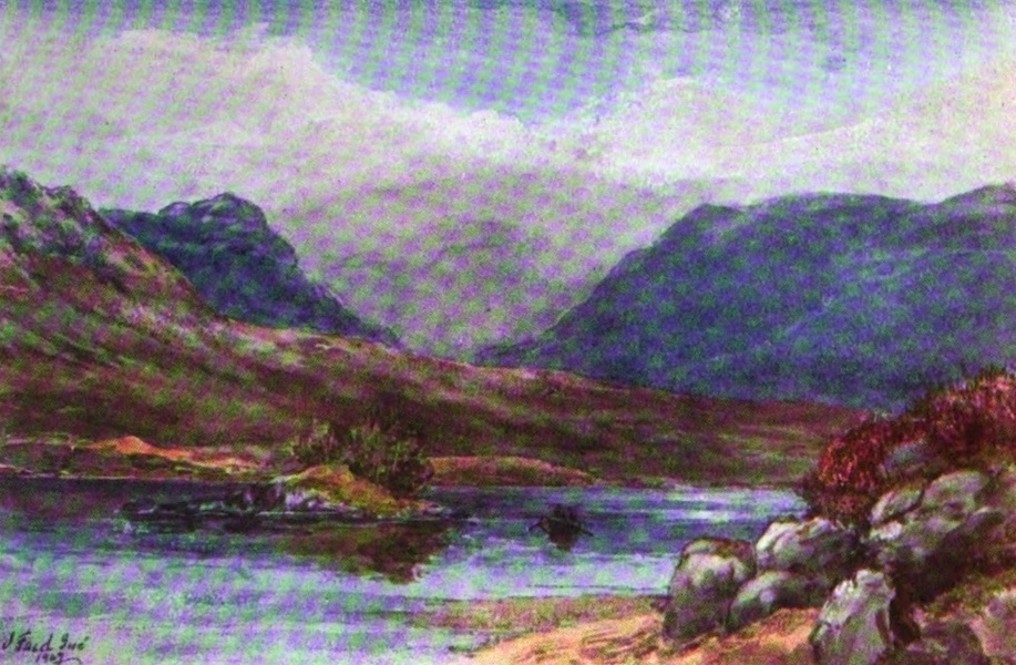 Galloway Painted and Described - Loch Dee (1908)