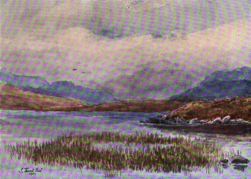 Galloway Painted and Described - Loch Neldricken (1908)