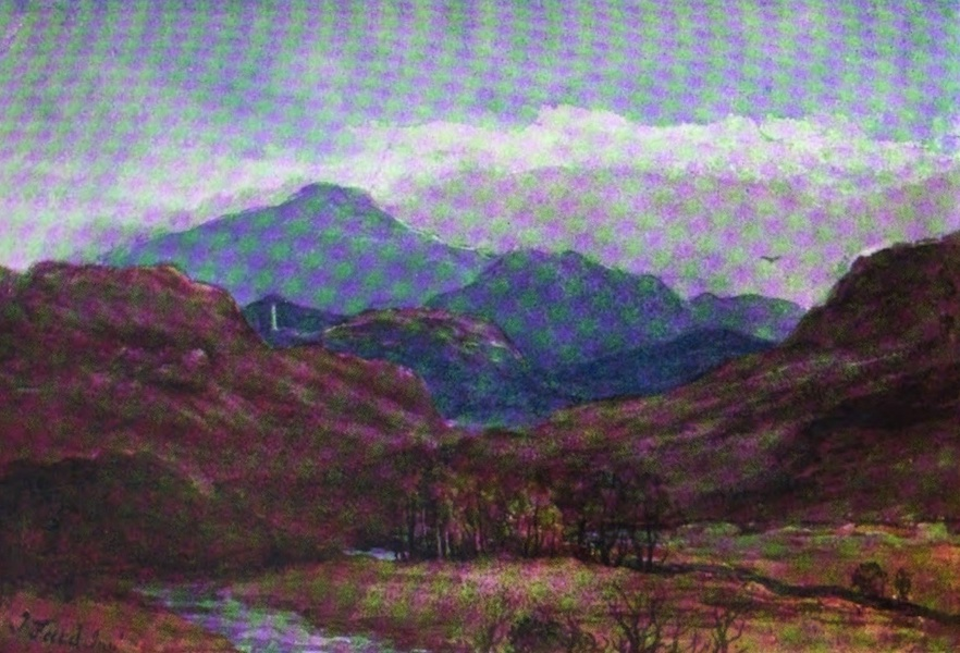 Galloway Painted and Described - Murray's Monument, from Bargaly Glen (1908)