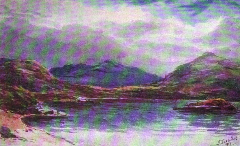Galloway Painted and Described - Loch Enoch (1908)