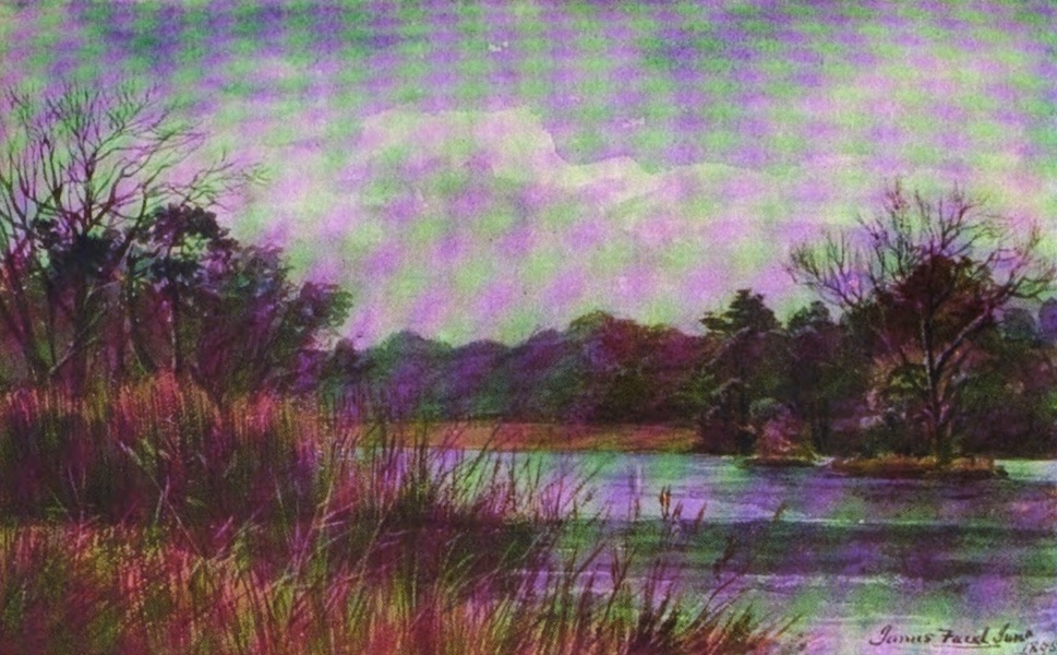 Galloway Painted and Described - Carlingwark Loch (1908)