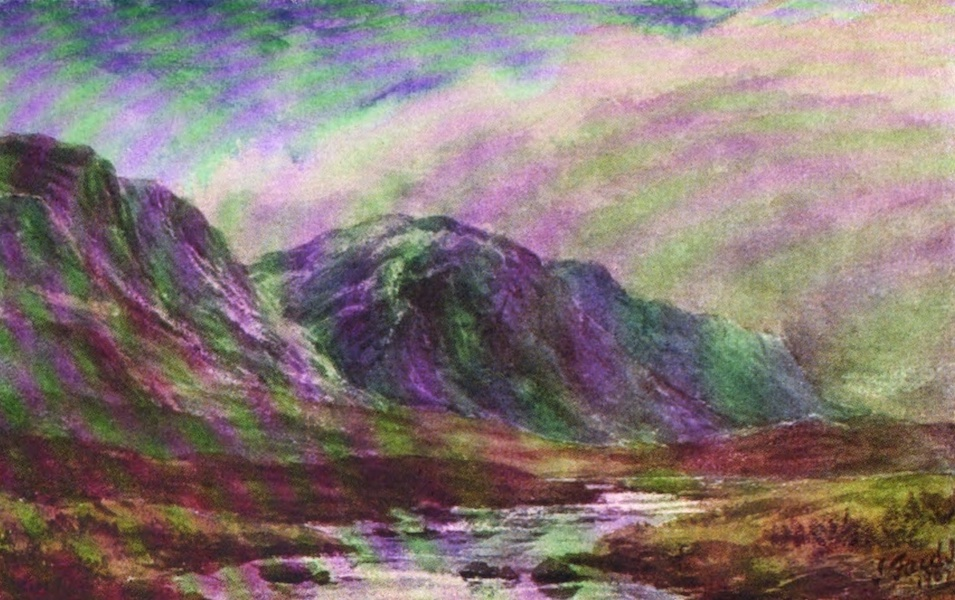 Galloway Painted and Described - The Source of the Dee (1908)