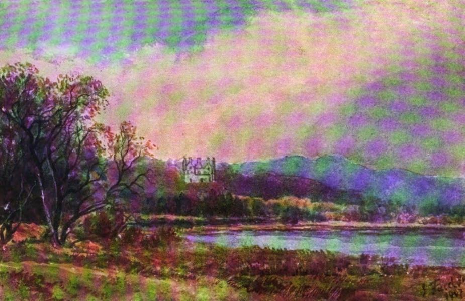 Galloway Painted and Described - Loch Ken, looking North (1908)