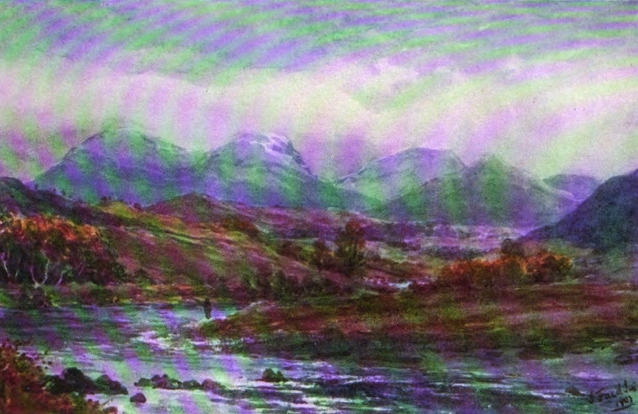 Galloway Painted and Described - The Carsphairn Hills (1908)