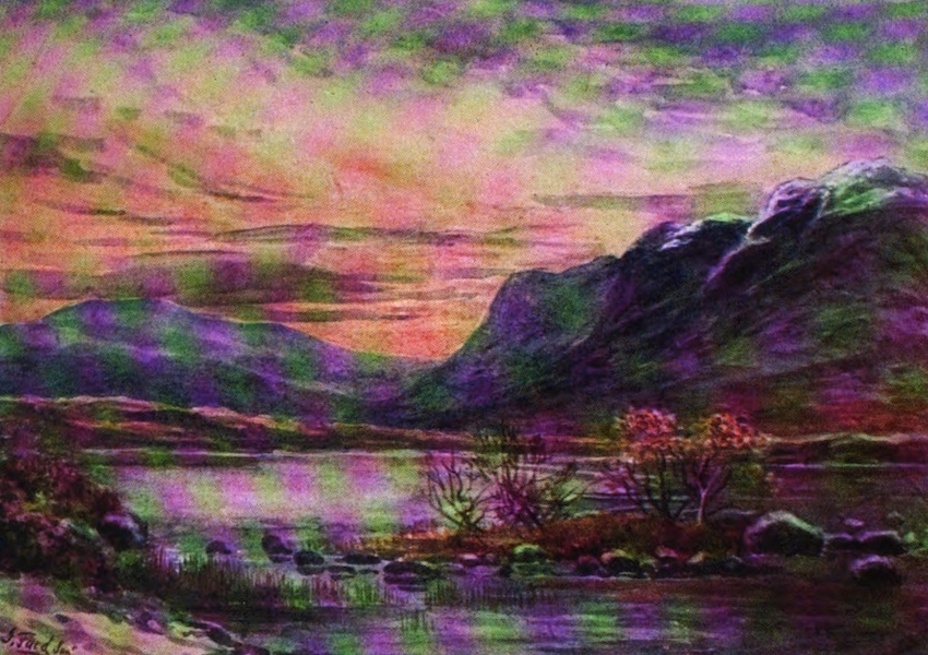 Galloway Painted and Described - Round Loch of the Dungeon (1908)
