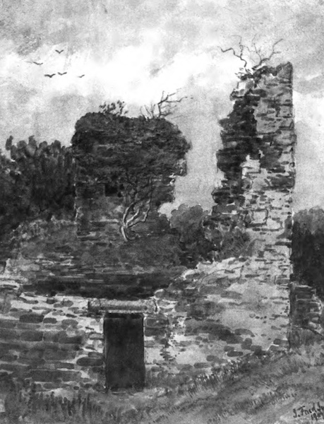 Galloway Painted and Described - Gairles Castle (1908)