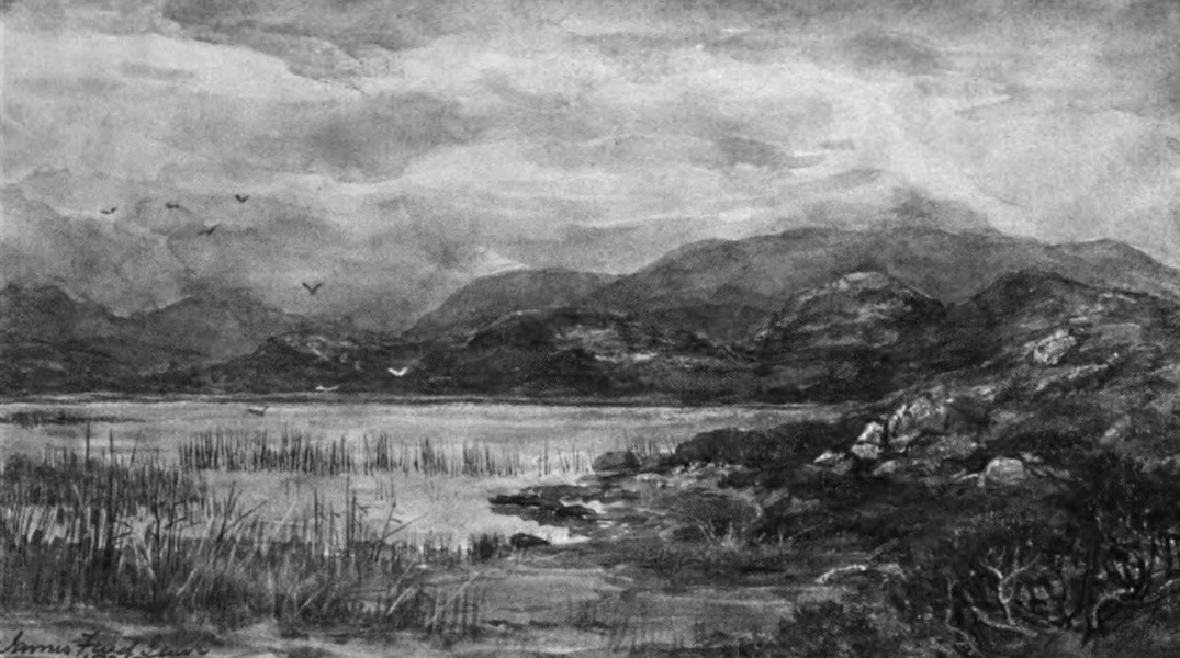 Galloway Painted and Described - Loch Chesney (1908)