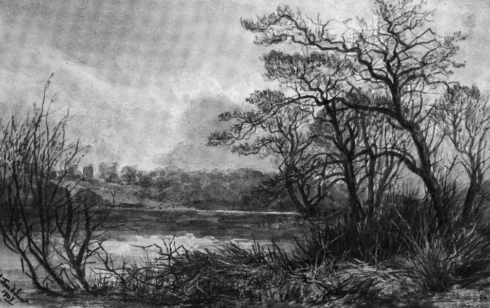 Galloway Painted and Described - Monreith Loch (1908)