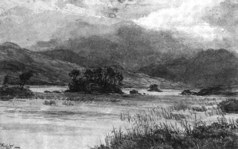 Galloway Painted and Described - Loch Skerrow (1908)