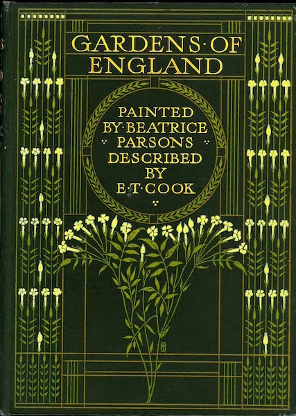 Gardens of England, Painted and Described - Front Cover (1911)