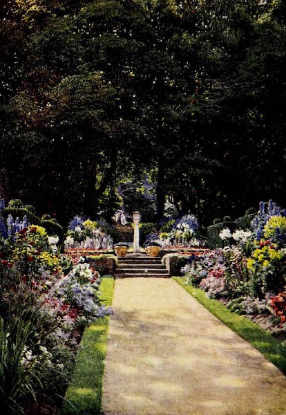 Gardens of England, Painted and Described - The Sundial, Woodside, Chenies (1911)