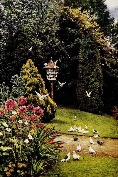 Gardens of England, Painted and Described - The Dovecote, Stonelands, Sussex (1911)