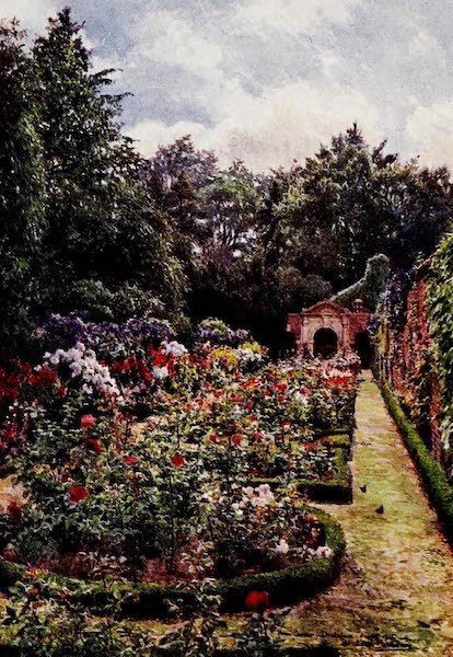 Gardens of England, Painted and Described - The Rose Garden, Drakelowe (1911)