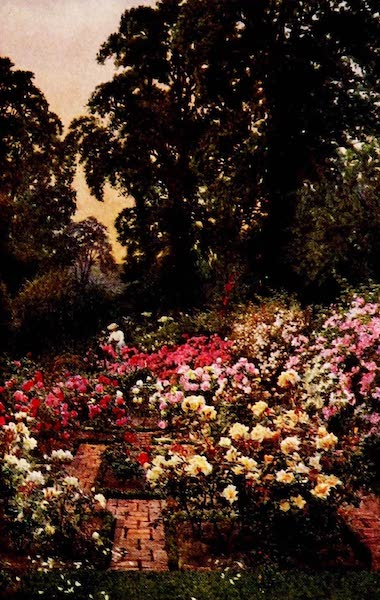Gardens of England, Painted and Described - The Rose Garden, Waxwell Farm, Pinner (1911)