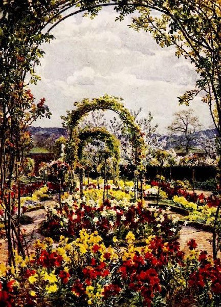 Gardens of England, Painted and Described - The Dutch Garden, Moor Park (1911)