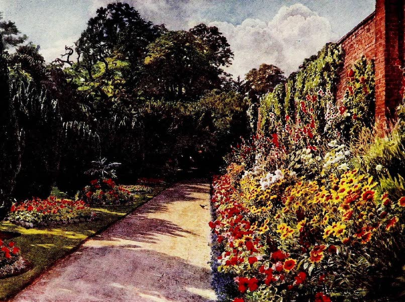 Gardens of England, Painted and Described - August at Holyrood House, Spalding (1911)