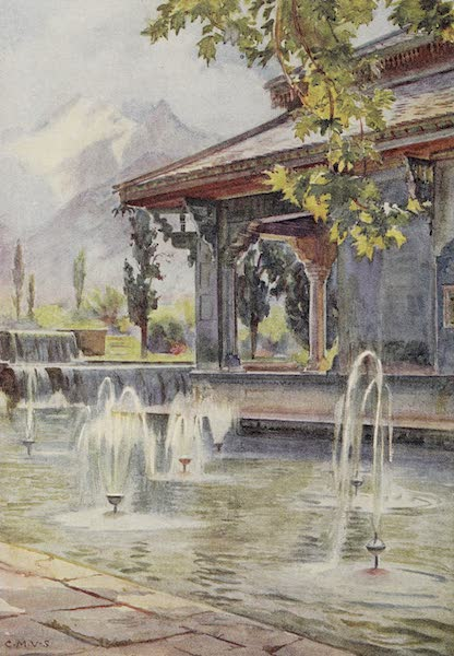 Gardens of the Great Mughals - I. The Queen's Pavilion (Shalimar Bagh)* (1913)