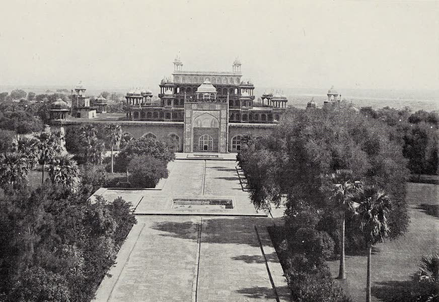 Gardens of the Great Mughals - VII. Sikandrah (1913)