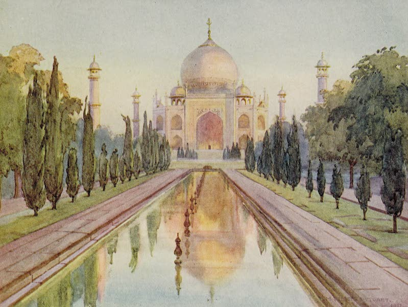 Gardens of the Great Mughals - X. The Gates were as of Pearl* (1913)