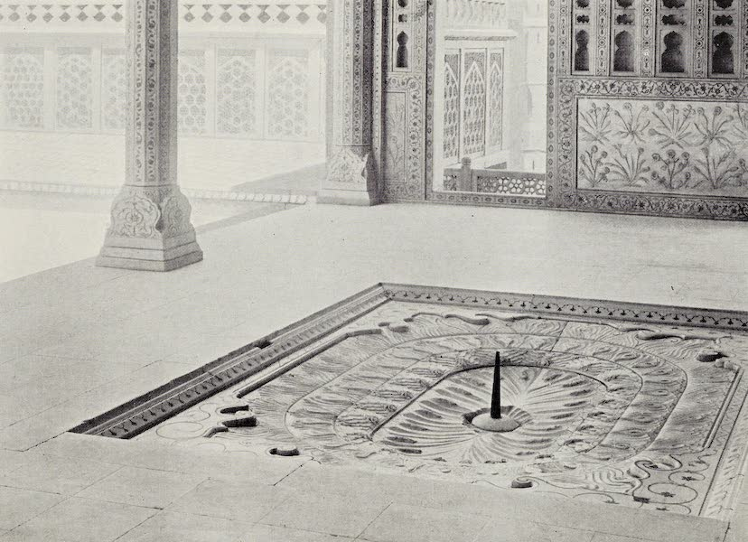 Gardens of the Great Mughals - XI. The Sultana's Fountain Bath (Jasmine Tower) (1913)