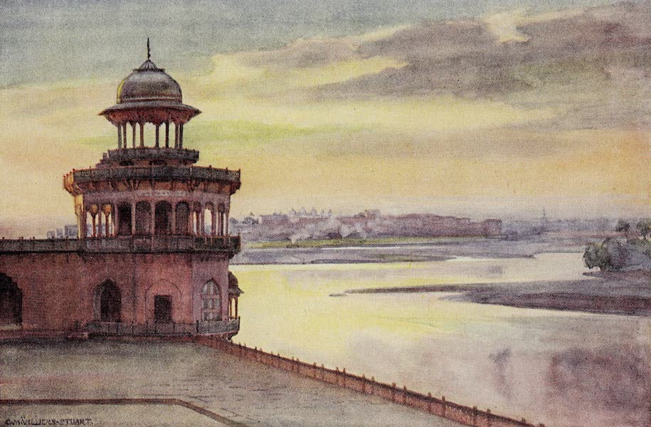 Gardens of the Great Mughals - XII. The River Terrace of the Taj* (1913)