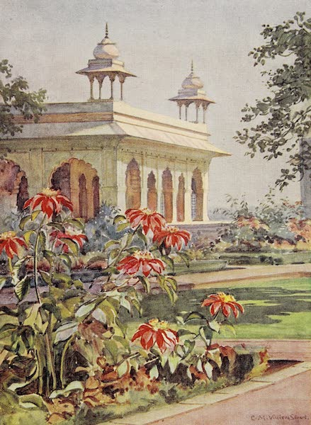 Gardens of the Great Mughals - XVII. The Diwan-i-Khas, Delhi* (1913)